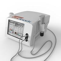 2 in 1 Ultrashock 물리 치료 초음파 충격파 허리 통증 완화 완화 탄도 공압 충격파 치료 기계