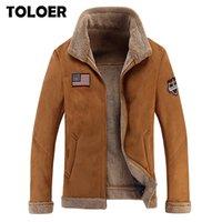Fleece Winter Jacket Men 2020 Soft Shell Warm Army Pilot Men's Teddy Jackets Male New Fashion Thick Aviator Motorcycle Fur Coats