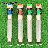 Faseroptikausrüstung VFL-rote Lichtquellen-Kabel-Tester-Stift-Sichtfehler-Locator 1MW / 10mw / 20mw / 30mw für ST FC SC Connector1