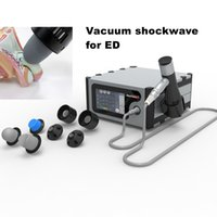 máquina de la onda de choque de vacío para la disfunción eréctil ED / onda de choque terapia de masaje pene eléctrico del pene dispositivo de la ampliación