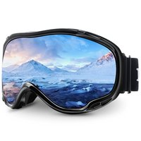 Maxjuli ski googles uv حماية مكافحة الضباب نظارات الثلوج للرجال النساء الشباب M1 201022