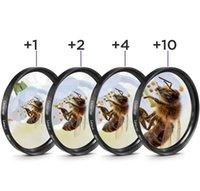 Macro de cerca del filtro de lentes + 1 + 2 + 4 + 10 Filtros Kit 49mm 52mm 55mm 58mm 62mm 67mm 72mm 77mm 82mm para Canon Nikon Sony DSLR Cámara