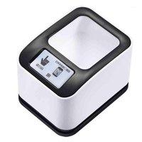 Сканеры БЕСПЛАТНЫЕ БЕСПЛАТНЫЕ 1D / 2D QR Scarcode Scanner Omnirectional Platform 2200H Desktop Auto Sense RS232 Интерфейс1