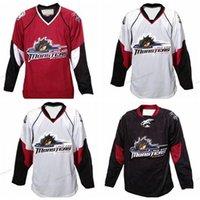 Barato Retro retro cleveland lago erie monstro hóquei jersey homens costurados qualquer tamanho 2xs-4xl 5xl nome ou número jersey frete grátis