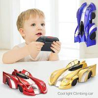 جديد تسلق الجدار التحكم عن الانجراف وامض سباق اللعب المضادة للجاذبية سيارة البسيطة حيلة rc لعبة هدايا للطفل 201105