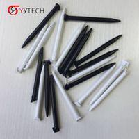 Syytech Plastic Stylus Scherm Touch Pen Set per Nintendo 2DS XL / LL Colore bianco nero Sempre disponibile in magazzino Parti di riparazione sostituzione altri accessori da gioco