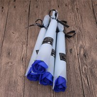 День Soap Цветок одной розы гвоздика учителя подарков творческих подарков Рождественский подарок на день рождения свадебные принадлежности