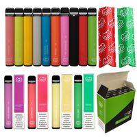 미국 좋은 판매 퍼프 플러스 벌크 구매 일회용 vape 최고의 판매 퍼프 바 플러스 저렴한 저렴한 가격 800 퍼프 E 담배 기화기