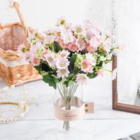 Искусственный цветок ромашка букет Валентина день материнский день