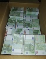 2021 grenzüberschreitender Hot-Selling-Filmgeld Euro 100 Papierkopie-Banknote-Prop-Geld Euro 100pcs / Pack 04