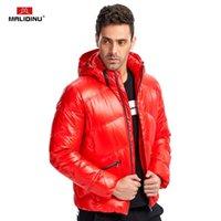 MALIDINU 2020 Fashion Men Down Jacket Winter Thick Down Coat Brand 70%White Duck Winter Parka Detachable Hood Free Shipping