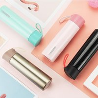 Stainless steel Tumbler Cups Colorful 270ml Water Bottle Flask 2 layer Vacuum Insulated Keep Warm Mug champagne Coffee Mugs 0031HOME
