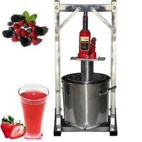 12L Commercial mão suco de fruta fria imprensa máquina de suco de aço inoxidável jaque de aço inoxidável máquina de uva de uva