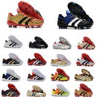 Hommes Predator 20+ mutateur Mania Tourmenteur accélérateur électrique de précision FG Beckham DB ZZ chaussures Zidane football crampons chaussures de football