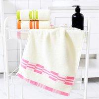3 قطع الجملة منشفة الضروريات اليومية القطن عادي لينة ماصة الكبار الوجه غسل منشفة يمكن تخصيص شعار 100٪٪ 1