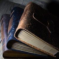 Journal de cuir Vintage Capuchon de cuir Sketchbook Journal de voyage Journal vierge Papier Note Remarques Cadeaux Cadeaux School Office Papeterie de bureau