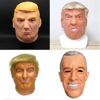 Оптовые маскарад маски президента США кандидат г-н Trump Латекс маска Латекс маска Миллиардер Дональд Трамп Президентская латексные маски JU77