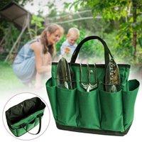 Hot Jardim Ferramentas Saco Durável 600D Oxford Tecido Jardim Bucket Bag Organizador Portátil para Ferramentas de Jardinagem D61