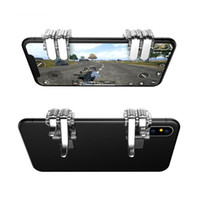 Gaming Trigger Fire Button Chape Key Smart Phone Мобильные джойстики игра L1R1 PUBG Shooter Controler для PUBG