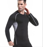 2021 Men' s T- shirt running fitness clothing quick- dryin...