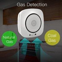 tuya Smart life APP WiFi Smart Gas Leakage detector Fire Security alarm natural Gas coalgas Detector Combustible Alarm Sensor