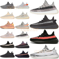 2021  Adidas Yeezy Boost 350 V2 shoes Wave Runner Kanye West V2 Running Shoes Yecher Cendres Cendres Stone Argile Terre Désert Sage Carbon Cinder Femmes Sports Sneakers 36-478502 #
