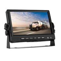 Vue arrière de la voiture Caméras 7 pouces camion Harvester agricole Retournement des images Semi-remorque Affichage HD K723A Accessoires