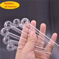 large stock ! Cheapest Pyrex Glass Oil Burner Pipe Clear Gla...
