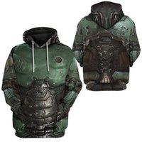 PLstar Cosmos Printed Doom Slayer Doomguy 3d hoodies Sweatshirt Winter autumn funny Harajuku Long sleeve streetwear pullover Y201006