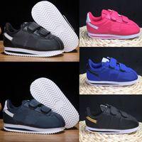 Nike Cortez Basic Kids Running Shoes 2020 de calzado infantil para niños CORTEZ básica de los niños calza los zapatos gratuito Entrenadores Hight-top calzado de arranque 22-35 Eur