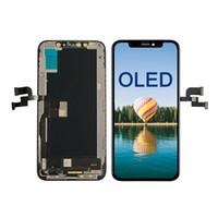 Hızlı DHL Kargo ile iPhone X XS Max XR Sınıf A +++ LCD Dokunmatik Ekran Sayısallaştırıcı Komple Montaj Yedek İçin OLED Ekran