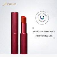 Dropship Matte Batom Gloss Long Durando Umidade Batom Cosméticos Lip Fosco Impermeável Magnética Lábios Maquiagem