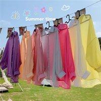 Kadınlar Casual Ince Ceket Yaz Güneş Kremi Giyim Kadın Uzun Seelve Hırka Gömlek Giyim Tops Bluz Kadın Blusas M421 Kapakları