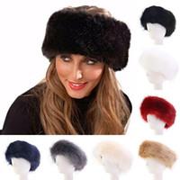 Estilo ruso piel de imitación de piel de imitación gorra de invierno para mujeres invierno oreja calentador de orejeras sombrero de esquí diadema sombrero esponjoso nieve Cap1