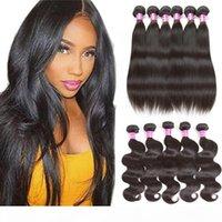 8A y 10A Grado Minly Bundles Broilian Virgin Hair Bundles onda de cuerpo profundo Onda profunda Rizado Curly Hair Hair Extensions Wholesale Tejidos para la venta