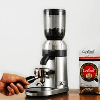 طاحونة طاحونة القهوة التجارية الكهربائية الكهربائية للمقهى الفول آلة طحن التلقائي 1