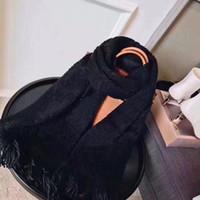 Nuovo con scatola regalo Bag Ricevuta Tag Sciarpe di alta qualità per le donne Inverno Mens Sciarpa Luxe Pashmina Warm Moda Lana Cashmere Sciarpe