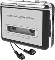 Kaset Çalar, Taşınabilir Teyp Oyuncu Yakalar MP3 Ses Müzik USB veya Pil yoluyla, dizüstü bilgisayar ve PC ile MP3 Walkman Bant Kasedi dönüştürme