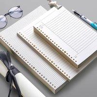 Notepads 60 Sayfalar Gevşek Yaprak Dizüstü Dolum Spiral Bağlayıcı 26 Delik Günlüğü Planlayıcısı A4 A5 B5 Izgara Cornell Hattı İç Çekirdek Kağıt Kırtasiye