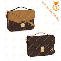 새로운 도착 숙녀 디자이너 패션 캐주얼 고품질 5A 메신저 가방 / M40780 M41465 Metis 숄더 가방 무료 배송