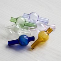 Newest Universal Colored glass bubble carb cap round ball do...