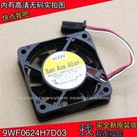 Sanyo 9WF0624H7D03 24 V Fanuc 6cm 6015 Ventilatore macchina CNC 0.12A 60 × 60 × 15mm Ventola di raffreddamento Cooler1