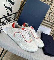 40% RabattTop Italien Design Qualität B23 Schrägtechnik Leinwandtrainer Sneakers Luxurys Designer Schuhe Männer Frauen Mode Paare im Freien