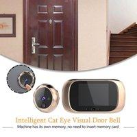 2,8 pouces écran LCD couleur numérique Sonnette 90 degrés porte des yeux Sonnette électronique judas Camera Viewer porte extérieure de Bell