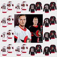 2020-21 Thomas Chabot Jersey Ottawa Senators Brady Tkachuk Matt Murray Craig Anderson Chris Tierney Mark Borowieck Anthony Duclair Jerseys