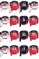 2019 IIHF Campeonato Mundial Canadá Jerseys Hockey Anthony Mantha Jersey Adam Henrique Kyle Turris Sam Reinhart Shea Teodore Custom Steitche
