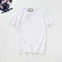 Moda Mens Camiseta Verão Designer T Shirt Impressão de Alta Qualidade Camiseta Homens Hip-Hop Homens e Mulheres Mangas Curtas G