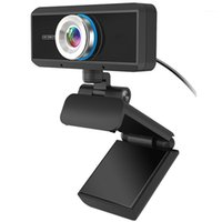 캠코더 USB HD 1080P 웹캠 내장 마이크 하이 엔드 화상 통화 컴퓨터 주변 장치 웹 카메라 용 YouTube PC PC Laptop1