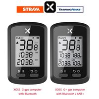 XOSS G + Artı Bisiklet Bilgisayar Kablosuz GPS Hızmetometre Su Geçirmez Bisiklet Yol Bisikleti Bisiklet Bluetooth Ant + Kilometre Sayacı Sensörü Olmadan 201120