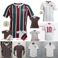 20 21 Fluminense Home Ph Ganso Futebol Uniforme Silveira Marcos Paulo Nascimento Soccer Match Adulto Men's Set